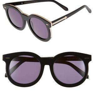 Karen Walker Super Duper Thistle Retro Sunglasses